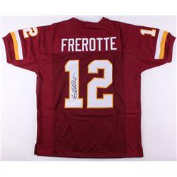 Gus Frerotte Signed Redskins Jersey (JSA COA)