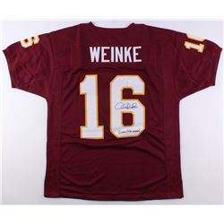 "Chris Weinke Signed Florida State Seminoles Jersey Inscribed ""2000 Heisman"" (JSA COA)"