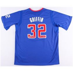 """Blake Griffin Signed Clippers Limited Edition Jersey Inscribed """"X-Mas 2013"""" (Panini COA)"""