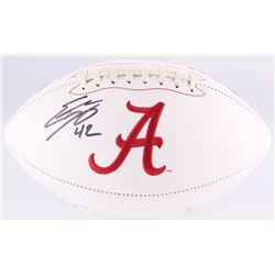 Eddie Lacy Signed Alabama Crimson Tide Logo Football (GTSM Hologram)