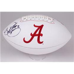 Derrick Henry Signed Alabama Crimson Tide Logo Football (Henry Hologram)