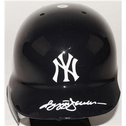 Reggie Jackson Signed Yankees Authetic On-Field Batting Helmet (JSA Hologram)