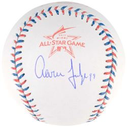 Aaron Judge Signed 2017 All-Star Game Baseball (Fanatics Hologram   MLB Hologram)