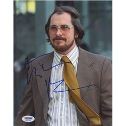 "Christian Bale Signed ""American Hustle""  8x10 Photo (PSA COA)"
