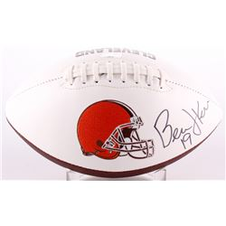 Bernie Kosar Signed Browns Logo Football (Radtke COA)