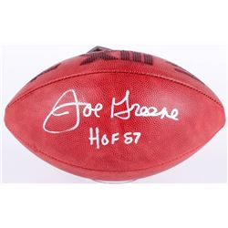 "Joe Greene Signed Super Bowl XIII NFL Official Game Ball Inscribed ""HOF 87"" (JSA COA)"