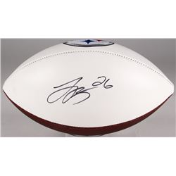 Le'Veon Bell Signed Steelers Logo Football (JSA Hologram)