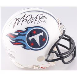 Marcus Mariota Signed Titans Mini Speed Helmet (Marcus Mariota Hologram  JSA COA)