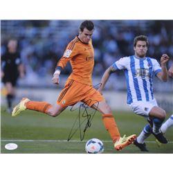 Gareth Bale Signed 11x14 Photo (JSA COA)