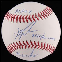 Dwight Gooden Signed OML Baseball With Extensive Inscriptions (JSA COA)