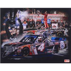 Christopher Bell Signed NASCAR Championship Celebration 11x14 Photo (PA COA)