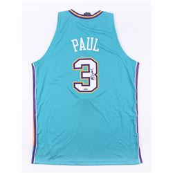 Chris Paul Signed Hornets Jersey (UD COA)