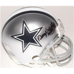 Daryl Johnston Signed Cowboys Mini Helmet (Radtke COA)