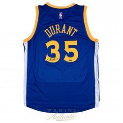 Kevin Durant Signed Warriors Authentic Adidas Swingman Jersey (Panini COA)