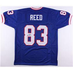 "Andre Reed Signed Bills Jersey Inscribed ""HOF 14"" (SGC COA)"