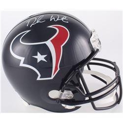 Deshaun Watson Signed Texans Full-Size Helmet (Beckett COA  Watson Hologram)