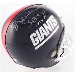 """Ottis Anderson Signed Giants Full-Size Helmet Inscribed """"SB XXV MVP"""" (JSA COA)"""