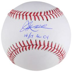 "Corey Kluber Signed Baseball Inscribed ""14/17 AL CY"" (Fanatics Hologram)"