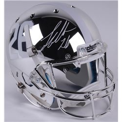 Landon Collins Signed Alabama Crimson Tide Full-Size Custom Chrome Helmet (Radtke COA)
