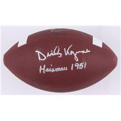 "Dick Kazmaier Signed NCAA Football Inscribed ""Heisman 1951"" (Beckett COA)"