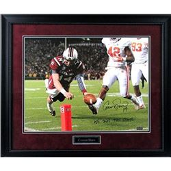 "Connor Shaw Signed South Carolina Gamecocks 23x27 Custom Framed Photo Display Inscribed ""We Own This"