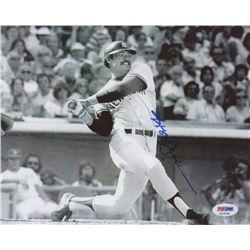 Reggie Jackson Signed Yankees 8x10 Photo (PSA COA)