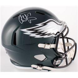 Alshon Jeffery Signed Eagles Full-Size Speed Helmet (Fanatics Hologram)