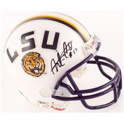 Morris Claiborne Signed LSU Tigers Mini Helmet (JSA COA)
