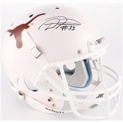 D'Onta Foreman Signed Texas Longhorns Full-Size Helmet (JSA COA)