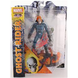 """Stan Lee Signed """"Ghost Rider"""" Marvel Select Action Figure (Lee Hologram  Radtke COA)"""