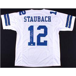 "Roger Staubach Signed Cowboys Jersey Inscribed ""SB VI MVP"" (JSA COA)"