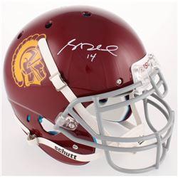 Sam Darnold Signed USC Trojans Full-Size Authentic On-Field Helmet (Radtke COA)