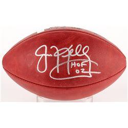 """Jim Kelly Signed Official NFL Game Ball Inscribed """" HOF 02"""" (Radtke COA  Kelly Hologram)"""