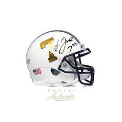 Leonard Fournette Signed LSU Tigers Mini Helmet (Panini COA)