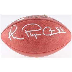 "Michael Irvin Signed NFL Football Inscribed ""Playemaker"" (Radtke COA)"