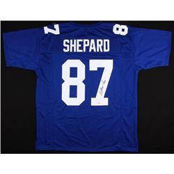 Sterling Shepard Signed Giants Jersey (Fanatics Hologram)
