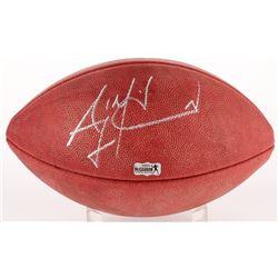 """AJ McCarron Signed """"The Duke"""" NFL Official Game Ball (Radtke COA)"""