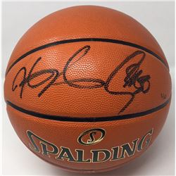 Stephen Curry  Kevin Durant Signed Limited Edition NBA Finals Basketball (Panini COA  Steiner Hologr