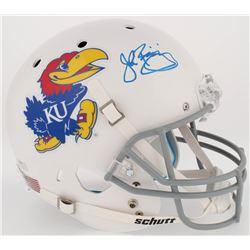 John Riggins Signed Kansas Jayhawks Full-Size Helmet (Radtke COA)
