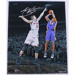 """Kobe Bryant Signed Lakers """"Last Game at MSG"""" 16x20 Limited Edition Photo (Panini COA  Steiner COA)"""