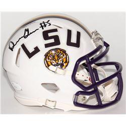 Derrius Guice Signed LSU Tigers Speed Mini Helmet (JSA COA)