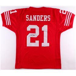 Deion Sanders Signed 49ers Jersey (JSA COA)