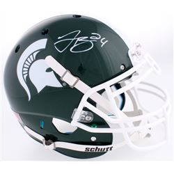 Le'Veon Bell Signed Michigan Spartans Full-Size Authentic On-Field Helmet (JSA COA)