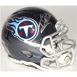 Derrick Henry Signed Titans Mini Speed Helmet (Henry Hologram)