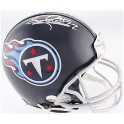 Derrick Henry Signed Titans Full-Size Authentic On-Field Helmet (Henry Hologram)