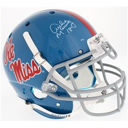 Archie Manning Signed Ole Miss Rebels Full-Size Authentic On-Field Helmet (Steiner Hologram)
