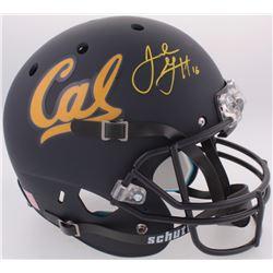 Jared Goff Signed California Golden Bears Full-Size Helmet (JSA COA)