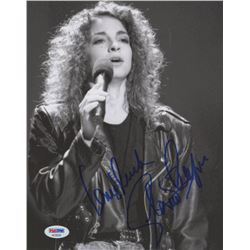 "Gloria Estefan Signed 8x10 Photo Inscribed ""Love  Luck"" (PSA COA)"