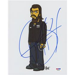 "Ryan Hurst Signed ""The Simpsons"" 8x10 Photo (PSA COA)"