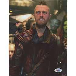 "Sean Gunn Signed ""Guardians of the Galaxy"" 8x10 Photo (PSA COA)"